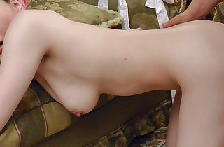 Supreme POV Asian porn along busty Aya..