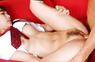 Chinese schoolgirl Miku Airi in the hard-core..